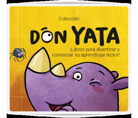 Don Yata  Don Yata encuentra algo raro al salir de casa. Será la cola de un león. Despliega las páginas y ayúdale a descubrirlo.