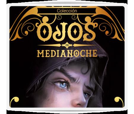 Ojos de medianoche  Una inolvidable aventura que conducirá a los lectores a través de un mundo de guerreros, brujos, gigantes y duendes, historias de traición y grandes actos heroicos