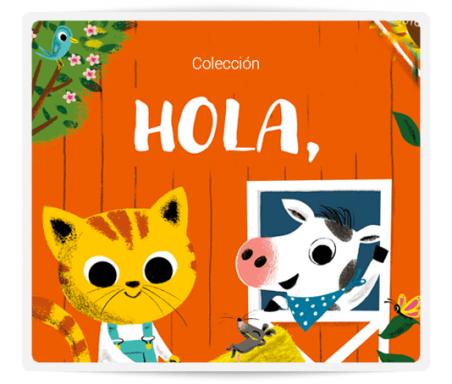 ¡HOLA!  Libros de cartón para los más pequeños