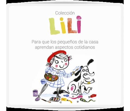 LiLi  Una colección en letra mayúscula y pequeño formato, perfecto para llevar, que ayuda a que los pequeños de la casa aprendan aspectos cotidianos